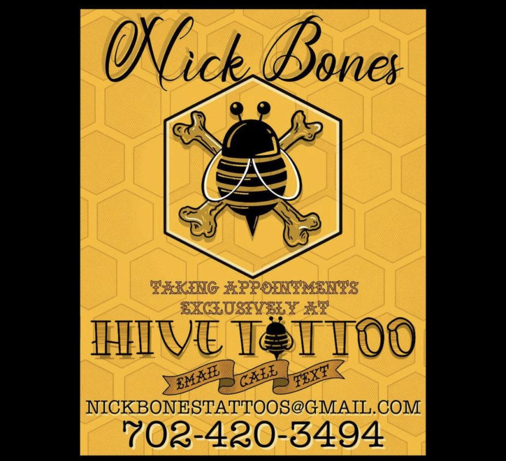 Hive Tattoo logo